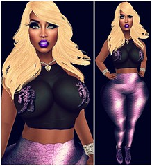 !LOTD#150 Cant get you off my mind (CutiePie Bugatti) Tags: mons reign fiatlux slink highrize ryca pinkfuel shewhodares lelutka ulukie