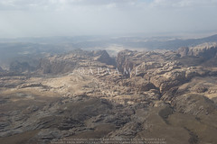 Wadi Suweid; el-Manktaa (Edomite Fortress) (APAAME) Tags: archaeology ancienthistory middleeast airphoto aerialphotography aerialarchaeology