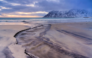 Meander | Skagsanden Beach, Lofoten, Norway