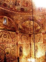 Tirana, mosque interior