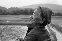 Portrait, Ziro Arunachal Pradesh India (mafate69) Tags: street old portrait bw woman india asia noiretblanc candid femme photojournalism documentary nb oldwoman asie himalaya himalayas inde reportage arunachal streetshot southasia subcontinent documentaire photojournalisme arunachalpradesh photoreportage apatani asiedusud blackandwhyte earthasia himalayasproject mafate69 souscontinent atapani