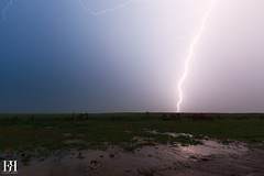 Degradation Normande (NeoNature) Tags: light sky storm france nature field weather canon ciel impact normandie lightning convection normandy thunder calvados eclair champ meteorology mtorologie foudre ramifi