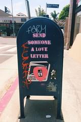 Veniice Love Letters (that's keen) Tags: california venice graffiti losangeles usps iphone
