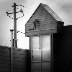 time warp (msdonnalee) Tags: house home dom casa haus maison utilitypole bw blackandwhite window wiring