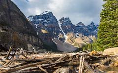 Moraine Lake (2) (adamfredphotography) Tags: morainelake banff banffnationalpark lakelouise alberta canada nature hiking mountain