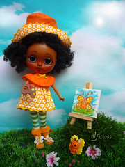 Another Strawberry Shortcake character: Orange Blossom