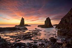 I am a rock (EmeraldImaging) Tags: cathedralrocks cathedralrock kiama wollongong seascape landscape sunrise le longexposure rocks water beach waves clouds nsw australia sydney