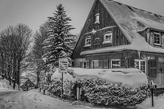 Waltersdorf (trekkpics) Tags: waltersdorf oberlausitz zittauer gebirge lausche winter schnee snow nature landscape deutschland germany sony alpha
