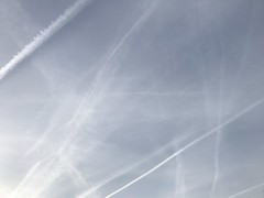 30 March 2017 (Mr T UK) Tags: contrail chemtrail ios photos cloud clouds sky outdoor blue white grey dark light sun sunshine cloudy clear overcast iphoneography mobile 365days 365day project365 cloud365