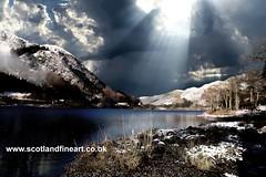 Loch Lubnig (Scotland Fine Art) Tags: scotland scottish loch lubnig winterscene glen