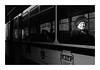 Untitled Image (Florin Aioanei) Tags: street blackandwhite oldwoman tram light romania florin aioanei