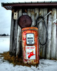 Fire Chief (Tom Mortenson) Tags: wisconsin birnamwood birnamwoodwisconsin usa shawanocounty midwest gaspump rusty america northamerica canon canon6d canoneos photomatix tonemapping digital 24105l shed rustic country petroliana gasolinememorabilia texaco firechief geotagged nostalgia rural rusted historic dilapidated pump antique outdoor neglected gasolinepump texacopump texacofirechief