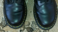 20161225_123330 (rugby#9) Tags: dm feet wear cushioned comfort sole cushion dms docmartens lace original soles bouncing doctormarten docs doc eyelets icon boots drmartensboots dr martens drmartens airwair air wair yellow stitching yellowstitching 10 hole 10hole size7 7 1490 black shoe footwear boot indoor