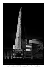 London 30 - The Shard (Images from the Dark Side) Tags: shard london lowkey mono bw blackandwhite nik le longexposure formatthitech10stop