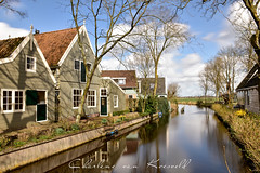 Village Broek in Waterland (Charlene van Koesveld) Tags: broekinwaterland waterland water waterfront dutch amsterdam postcard picturesque pittoresque characteristic netherlands nederland nikon holland travel europe tourism house woodenhouse wood houses trees reflection longexposure clouds cloudscape sunny wind northholland noordholland village town city cityscape beautiful spring springtime