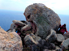 A day at an exhibition 341. Hard hiking, wild swimming and admiring rocks scuptured by nature in Cape Papas, Ikaria (angeloska) Tags: colors ikaria kavopapas opsikarias karkinagri trailofthelighthouseguards march girls rockclimbing hiking aegean greece sea rocks ικαρία καρκινάγρι κάβοπάπασ μονοπάτια hollowrocks οπσικαρίασ
