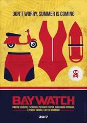 Baywatch Movie Poster (2017) (Lindsay_Silveira) Tags: baywatch movie alternate alternative ocean lifeguard sea poster tv show classic babes sand water comedy action indian american bay watch summer brawn