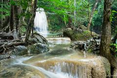 Erawan Waterfalls-Thaïland (jo.haeringer) Tags: thaïland waterfalls falls fuji erawan nature water erawannationalpark