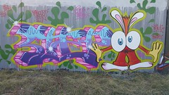 Coma... (colourourcity) Tags: streetart streetartaustralia streetartnow graffiti graffitimelbourne melbourne burncity awesome colourourcity burners capmatchescolour nofilters wildstyle coma coma1 comaone tbs ringwall