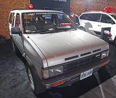 1987 Nissan Pathfinder (D70) Tags: the nissan pathfinder is midsize crossover suv manufactured by motors since 1985 derived from nissans compact pickup truck platform 2017 vancouver international auto show