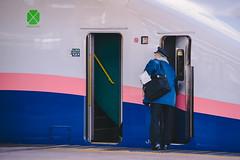 JRE | Shinkansen E4 Series | Omiya (Pumpkin Kuma) Tags: shinkansen jr jre railway e4 train platform omiya tokyo japan