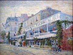Restaurant of Sirene Asineres, 1887 (Mr. History) Tags: vincent vangogh france dutch provence