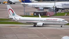 Royal Air Maroc Boeing 737-86N CN-RGE (StephenG88) Tags: manchesterairport man egcc 23l 23r boeing airbus 3rdapril2017 3417 4317 royalairmaroc ram at 737 737800 738 cnrge