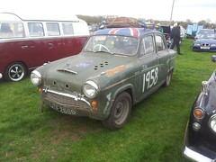 1957 Austin A55 Cambridge (quicksilver coaches) Tags: austin a55 cambridge jtf268b earlsbarton