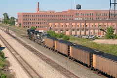 NS9090ChicagoIL9-19-15 (railohio) Tags: ns brc trains chicago illinois 091915 freightcar gondola c409w beltrailwayofchicago boct