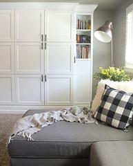 turn-ikea-bookshelves-custom-built (dearlinks) Tags: diy beautiful lavish trends creative home decoration improvement designs projects ideas plans tips inspiration