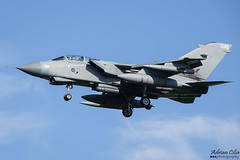 Royal Air Force --- Panavia Tornado GR4 --- ZA554 (Drinu C) Tags: adrianciliaphotography sony dsc rx10iii rx10 mk3 lwr ehlw plane aircraft aviation leeuwarden frisianflag military raf royalairforce panavia tornado gr4 za554
