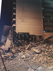 Destruction. (a.zphotography) Tags: doha qatar s7 edge samsung takenwithgalaxy streets car holiday street asia sky building azphotography az photography phone mobile architect design