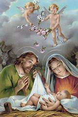 Baby-Jesus-&-Joseph-and-Mary-old-style_313 (armondscavo) Tags: jesus blessed mother joseph holy family god blessedmother christmas holyfamily saintjoseph