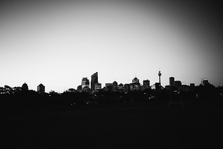 The city from Moore Park, 2016.