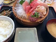 Tsuna Sashimi Lunch set from Totosuke i nShimizu (Fuyuhiko) Tags: ととすけ まぐろ マグロ 鮪 tsuna sashimi lunch set from totosuke nshimizu 清水 shizuoka pref 静岡県