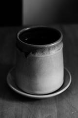 (technicolor dreams) Tags: black white dof tea coffee mug teacup canon t3 1100d 60mm still life spring