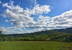 Pollionnay, France (jérôme labouyrie) Tags: bleu ciel nuages foret campagne coteaux lyonnais alpes rhone france pollionnay