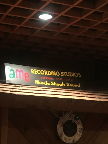 trademark sign for FAME recording studio