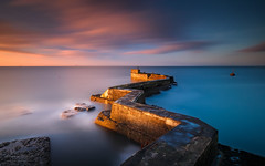 Crooked (Adam West Photography) Tags: adamwest longexposure scotland sky timelapse uk east fife neuk sea