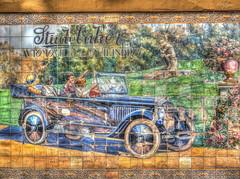 Studebaker. (Sevilla) (Capuchinox) Tags: sevilla seville azulejo hdr nik coche car