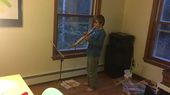"""""""March of the Alliance"""" (found_drama) Tags: video holden essexjunction vermont vt 05452 trumpet music"""