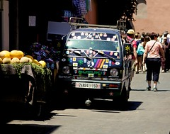 2014 07 - Marrakech & Ouzoud Morocco  431 (ikeofspain) Tags: city trip travel holiday hot nature leather dessert waterfall market tea northafrica mint camel morocco heat marrakech souk marrakesh cascada tannery ouzoud littleadventures berbertoad azalil