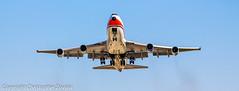 Boeing 747-4F cargo (Doctor Christopher) Tags: boeing boeing747 boeing747400 chicagoohareinternationalairport boeing7474f
