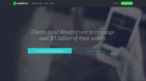 WealthfrontHomepage