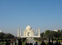 Agra, Taj Mahal, January 2012