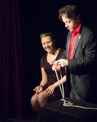 perfect  magic show assistant (nosha) Tags: paris france beautiful beauty nosha paris2014
