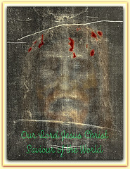Our Lord, Jesus Christ. Prince of Peace & Saviour of the World (actual photograph). (Truth in science) Tags: history love church word religious truth catholic christ cross god faith religion jesus stpaul belief creationism christian holy creation trinity crucifix bible christianity messiah creator genesis salvation prophet gospel biblical crucifixion apostles treeoflife redeemer sacrifice stpeter holytrinity jesuschrist kingofthejews nazareth apostolic orthodoxchurch holyspirit saviour crucified gospels pontiuspilate newtestament thewordofgod wordofgod ourlord sonofgod theism princeofpeace truecross godslove epistles theist jesusofnazareth churchoftheapostles godsmercy lordjesus inthebeginningwastheword sufferingservant christiancrosses creatoroftheuniverse crossofjesus godssalvation holypriesthood thefirstcause
