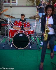 Little Drummer (tourtrophy) Tags: musician child drum streetphotography drummer streetperformer streetmusician canonef50mmf14usm halfmoonbaypumpkinfestival candidstreetphotography canoneos5dmark3