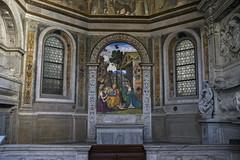 Rome - Basilica Parrocchiale Santa Maria del Popolo (Allan482) Tags: italy rome roma church italia chiesa renaissance pinturicchio religiousart renaissanceart santamariadelpopolo fuji23mm fujix100s x100s
