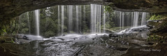 Somesby Falls 130914 Panorama (Mandy Harvey aka Beadsme) Tags: water photography waterfall australia newsouthwales serene silky somersby sept2014